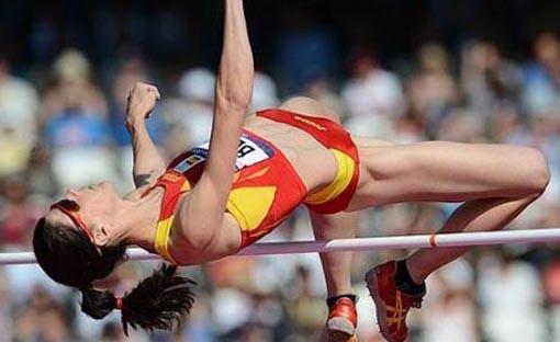 Ruth Beitia logra el bronce en Moscú