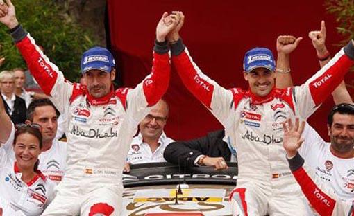 Sordo gana al fin su primera prueba en un WRC
