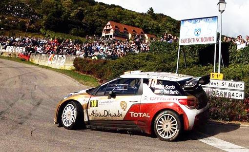 Dani Sordo, segundo en el Rallye de Francia-Alsacia
