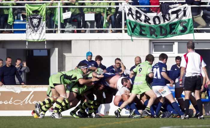 Los verdes del Bathco, líderes del rugby nacional