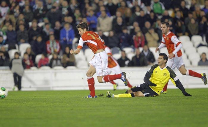 El Racing copero mereció más ante el Sevilla