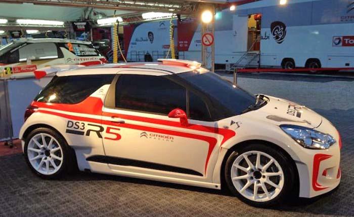 El primer Ds3 R5 para el equipo cántabro KRS