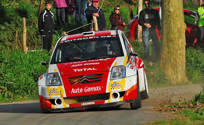 Manuel Cabo participará en el Campeonato cántabro con el Citroën C2 S1600 de Auto Gomas