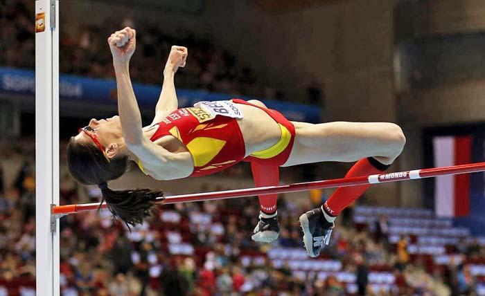 Ruth Beitia logra una fantástica medalla en el Mundial