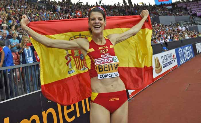 La cántabra Ruth Beitia logra un oro más y ya es la mejor atleta española