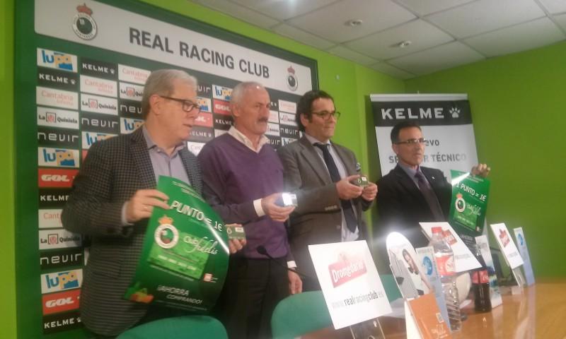 El Comercio de  Cantabria y el Racing firman un acuerdo de colaboración