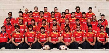 La selección nacional de Rugby visita el Malecón