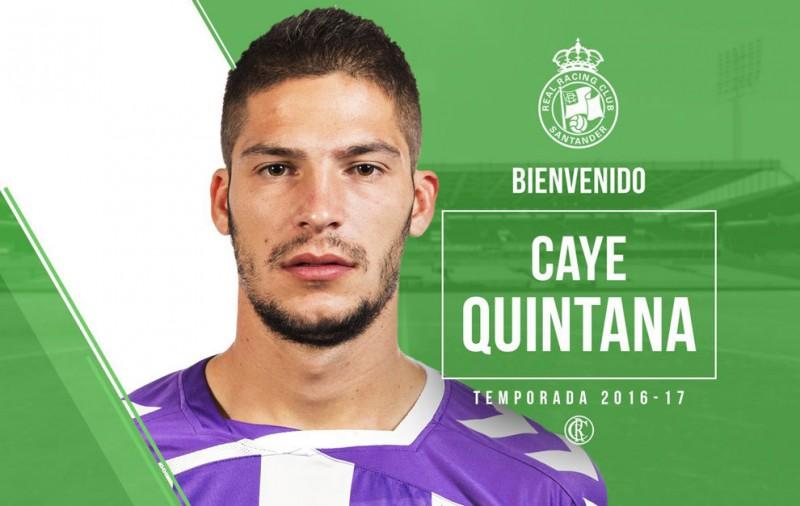 El Racing refuerza la delantera con Caye Quintana